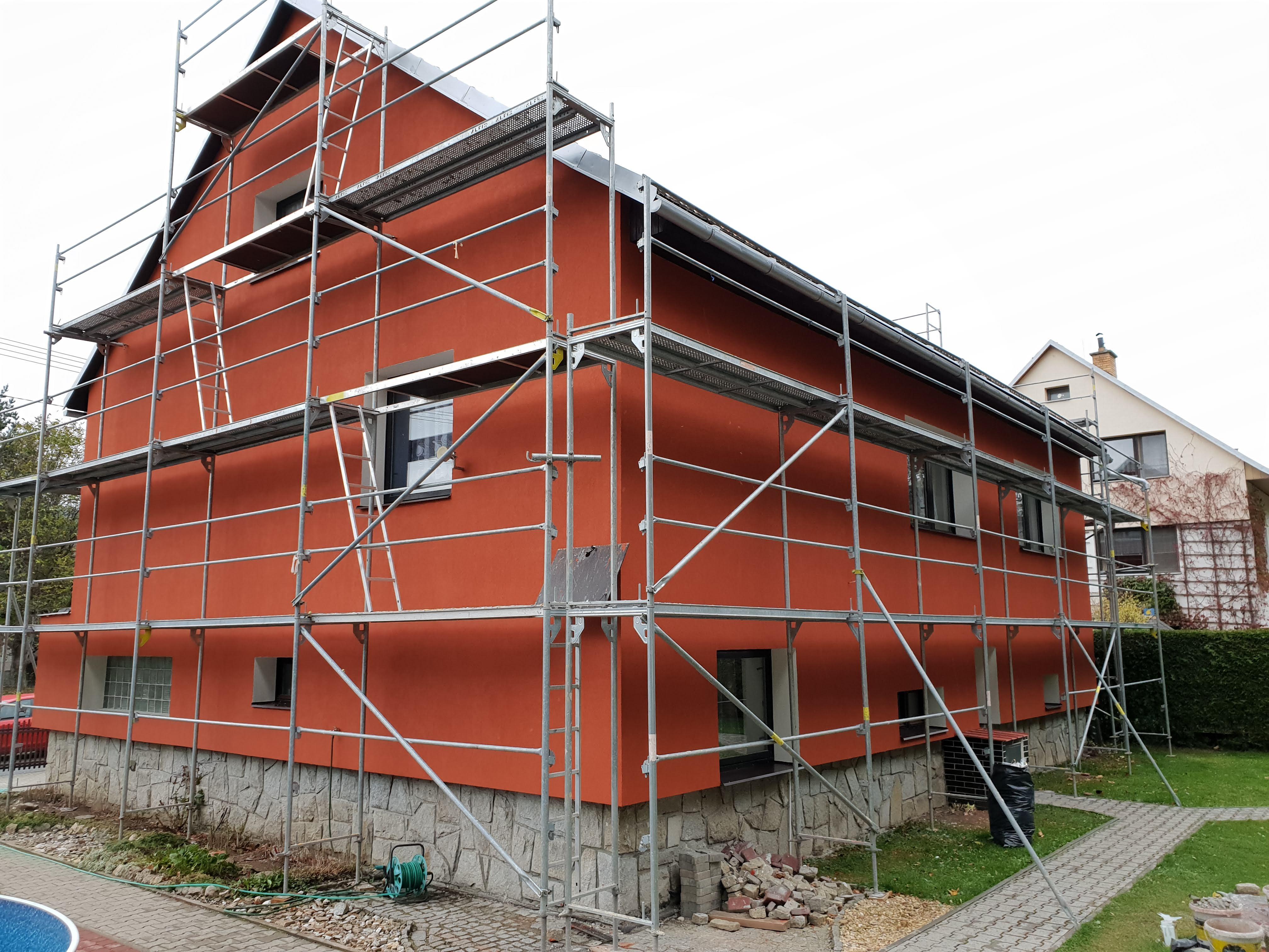 Termo fasády na rodinných domech
